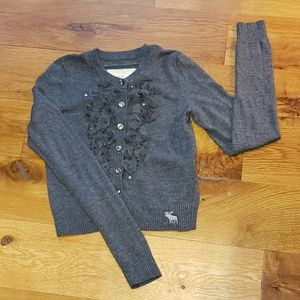 Abercrombie Cardigan, Size Medium